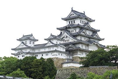 日本国宝姬路城古建筑保护工程