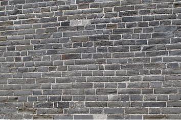 日本东京都千代田区古砖墙防盐害保护工程