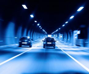 隧道交通反光保护